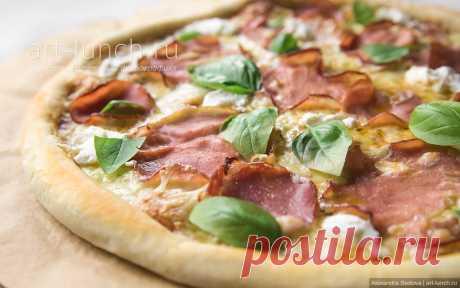 Основа для пиццы (тонкое хрустящее тесто) - пошаговый рецепт с фото