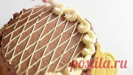 Домашний вкусный торт Золотой ключик