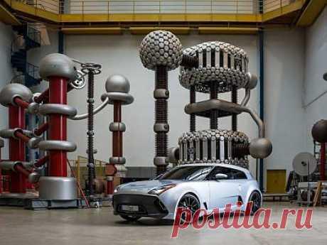 Немецкие ученые построили собственный электромобиль
