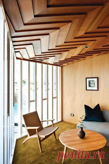 Внутренняя отделка дома деревом | Роскошь и уют