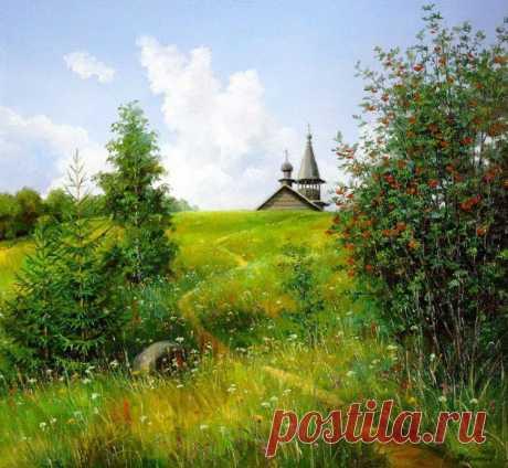картина художника Сергея Курицына – 10