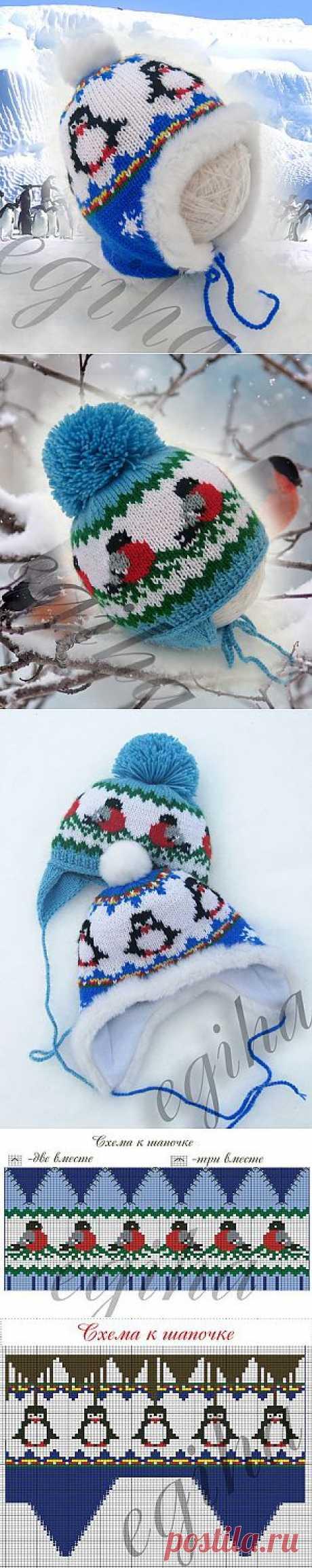 Вяжем детям шапочки от Елены Жигановой | Вяжем с Ланой
