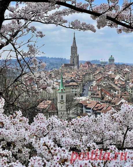 ༺🌸༻Весенний Берн, Швейцария