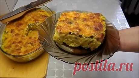 """""""Ленивая жена&quot baked pudding; - It is simpler to order pizza only"""