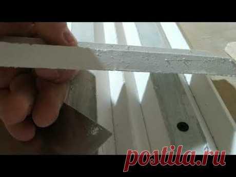 Чем заделать трещины на стене или на потолке