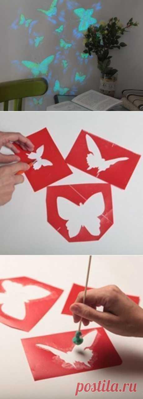 Бабочковое настроение - бабочки на стене!.