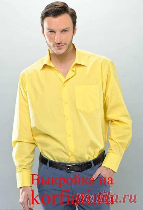 Выкройка мужской рубашки от Анастасии Корфиати Мужская рубашка, сшитая женскими руками - что может быть лучше? Выкройка мужской рубашки с подробными инструкциями по шитью. Выкройка рубашки бесплатно!