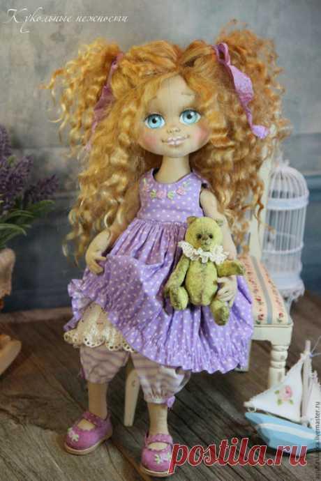 МК по личику текстильной куклы + Кукольные нежности от Ариши