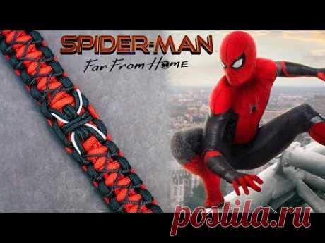 Человек-паук  Браслет  Паракорд