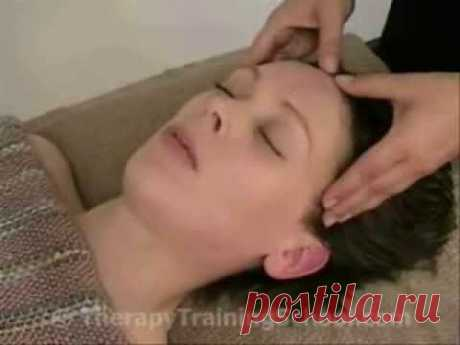 Learn Indian Head Massage - Lying Down Techniques Video 2