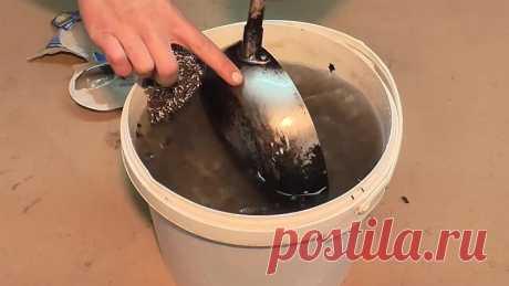 Простой способ как отчистить сковородку от нагара без химии