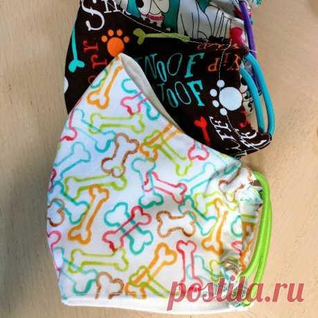 Как сшить медицинскую маску своими руками: 4 мастер-класса + шаблоны — Мастер-классы на BurdaStyle.ru