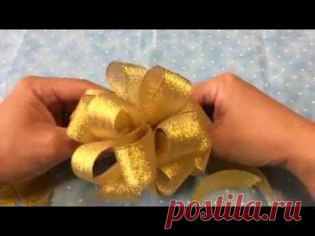 フラワーリボンの作り方 part2
