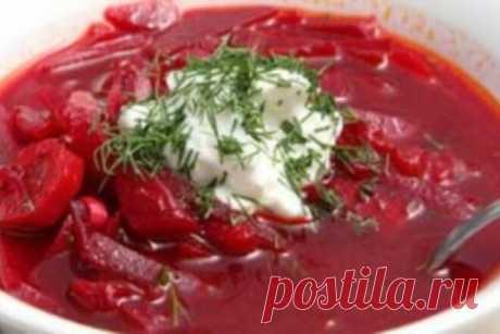 Холодный борщ без мяса «Ставропольский», рецепт с фото — Вкусо.ру