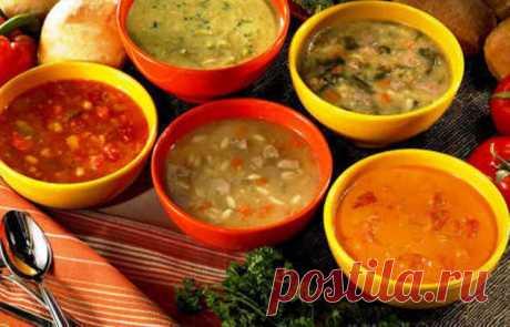 Рецепты очень вкусных наваристых супов: