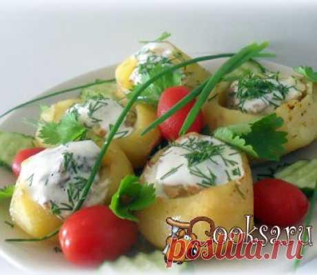Фаршированный картофель фото рецепт приготовления