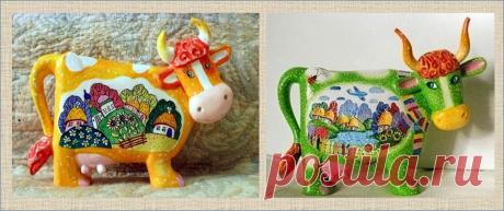 Милая коровка с выкройкой и три бычка в придачу - начинаем копить подарки к Новому году | МНЕ ИНТЕРЕСНО | Яндекс Дзен