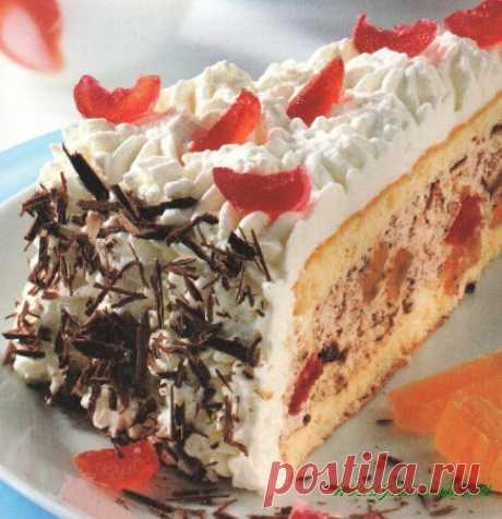 """Торт """"Осколки льда"""" » Отличные кулинарные рецепты для Вашего домашнего стола"""