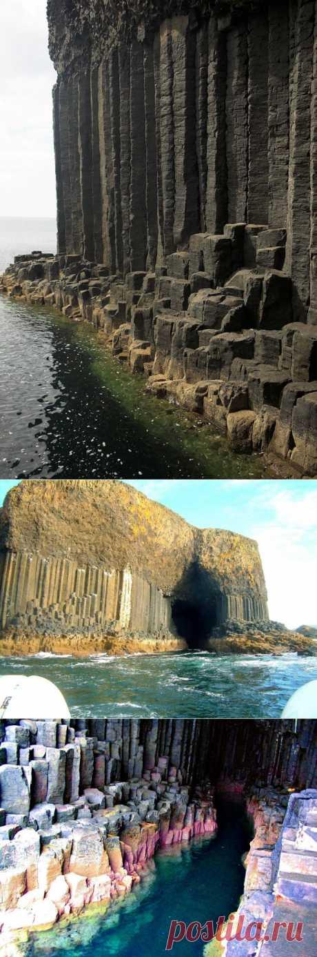 Поющая пещера Фингала : НОВОСТИ В ФОТОГРАФИЯХ