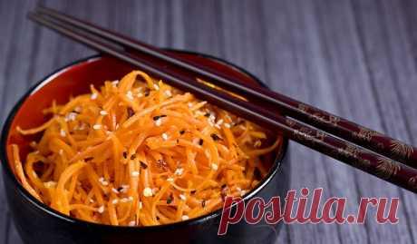 Морковча - салат в домашних условиях по-корейски, мясо, грибы, приправы
