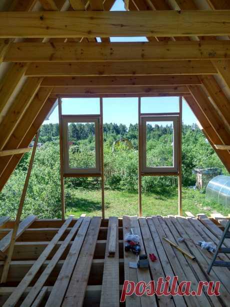 Выбор и установка окон в деревянный дом | Даня на даче: строю и показываю! | Яндекс Дзен