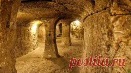 Древние города, выкопанные под землей (8 фото) . Тут забавно !!!