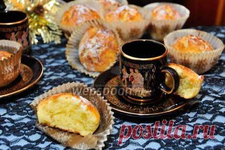 Йогуртовые маффины от Юлии Высоцкой рецепт с фото, как приготовить на Webspoon.ru