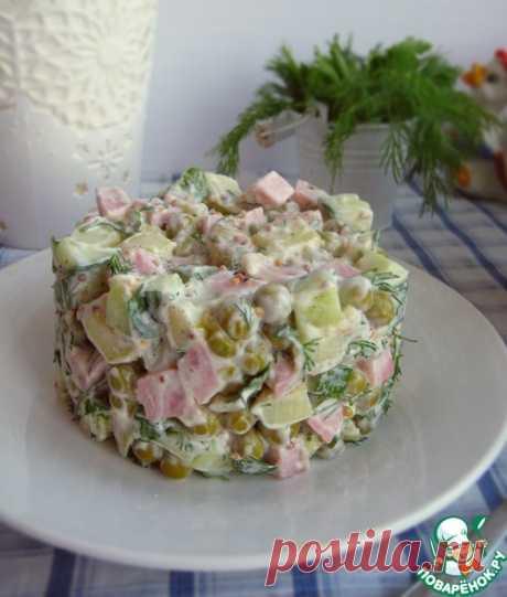 """Салат """"Летний оливье"""" – кулинарный рецепт"""