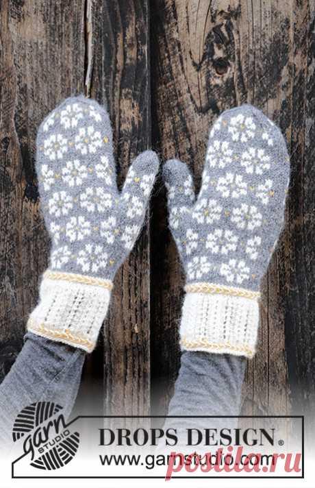 Рукавицы и носки Winter Daisies - блог экспертов интернет-магазина пряжи 5motkov.ru