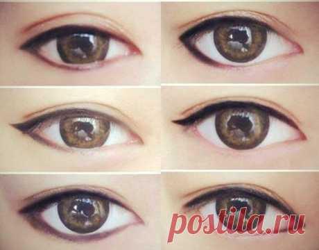 Как красить глаза в зависимости от их формы | Всегда в форме!