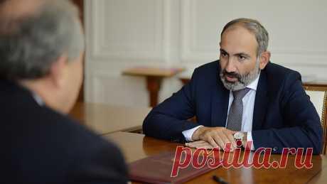 Пашинян назал сирийских боевиков в Карабахе угрозой для России По словам Пашиняна, наемники из Сирии, действующие в Карабахе, могут быть позже переброшены в Россию.