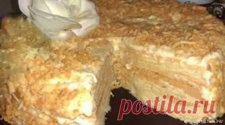 Старинный рецепт торта «Наполеон»