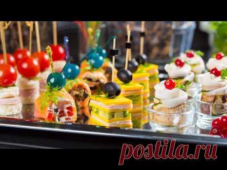 Четыре потрясающих идеи для вечеринок! Шварцвальдская ветчина с цукини. Чеддер с авокадо.