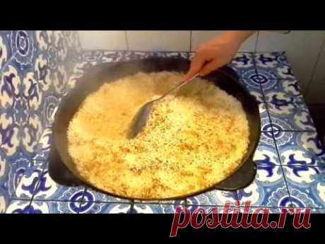 AS IT IS CORRECT TO MAKE THE REAL UZBEK PILAF