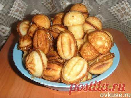 """печенье """"орешки"""" и """"грибочки"""" в форме - Простые рецепты Овкусе.ру"""