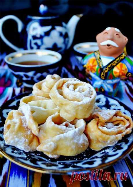 Urama, la golosina uzbeka (FM el alfabeto Culinario). ¡La receta c la foto, dictaremos, como preparar!