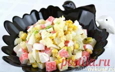 Салат «Легкость» - Простые рецепты Овкусе.ру