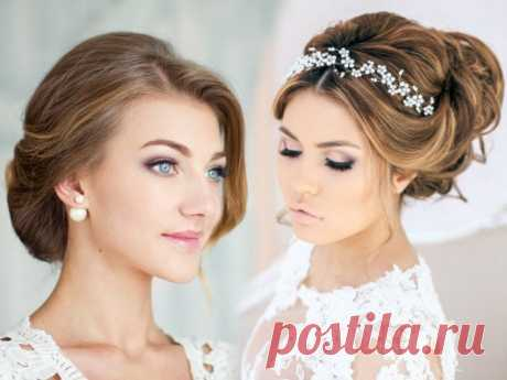 Свадебные прически на средние волосы фото Красивые свадебные прически на средние волосы очень актуальны в последнее время, так как многие невесты дают предпочтение именно средней длине волос, которая позволяет создавать на голове настоящие шедевры.