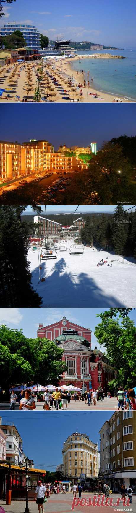 Bulgaria and its resorts.