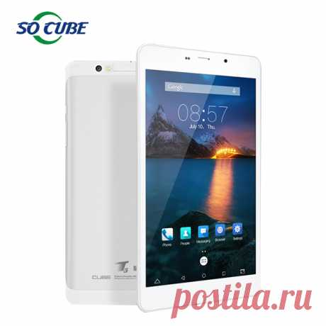 Cube t8 ultimate 4 г телефон планшет MTK8783 Octa ядро 8 дюймов Full HD 1920 * 1200 android 5.1 2 ГБ Ram 16 ГБ Rom GPS OTGкупить в магазине So cubeнаAliExpress