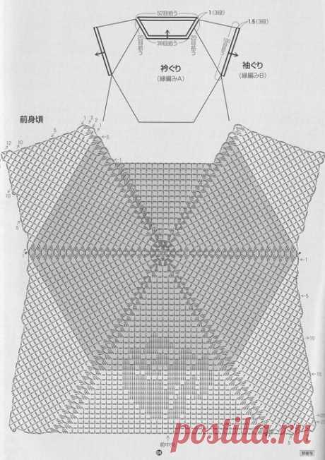 e06f53b22291d913cd6b160758fa12a7--crochet-blouse-crochet-dresses.jpg (494×700)