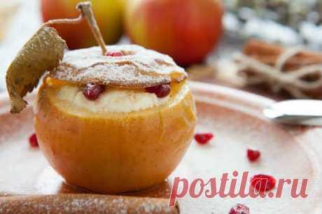 Яблоки, Запеченные в Духовке с Медом - 5 Рецептов