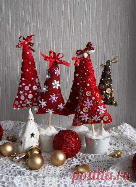 Просто так! Новогодний декор в подарок. Идеи и мастер класс, для вдохновения! | Юлия Жданова | Яндекс Дзен