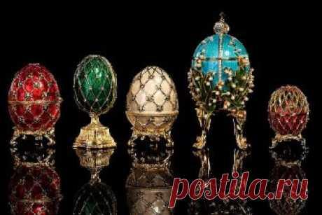Узнайте, как устроены прославленные яйца Фаберже