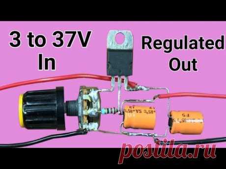 Simple voltage regulator