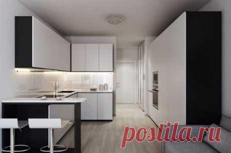 El proyecto del apartamento-estudio pequeño