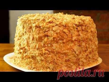 Торт НАПОЛЕОН.Просто легко вкусно!!!