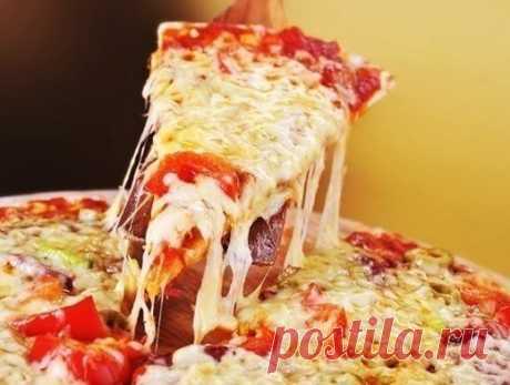 Пицца: 3 моментальных варианта теста и 7 лучших начинок / Женское счастье!