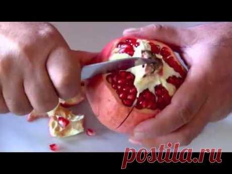 Granatapfel entkernen-schälen-schneiden-Granatapfel richtig entkernen-Lifehack