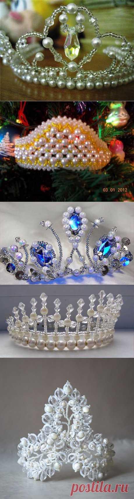 Плетем диадемы и короны....